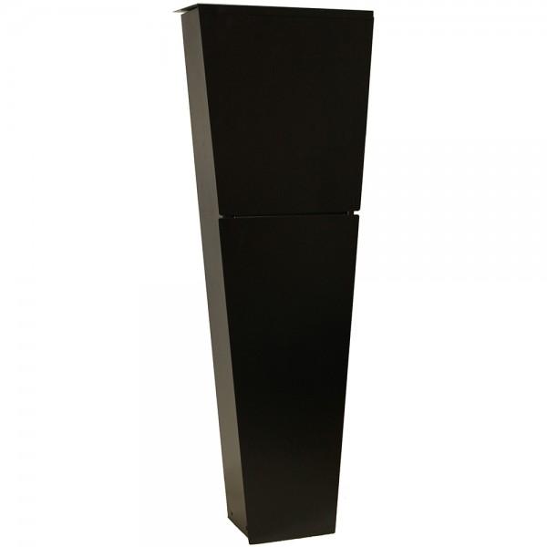 Grafner® XXL Standbriefkasten in schwarz B-Ware