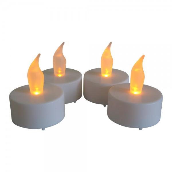 4er Set LED Teelichter inkl. Batterie