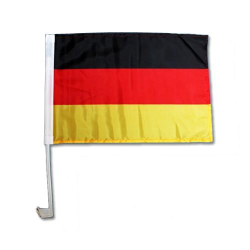 Deutschlandflagge stabiler Stab 30 x 45 cm Deutschlandfahne