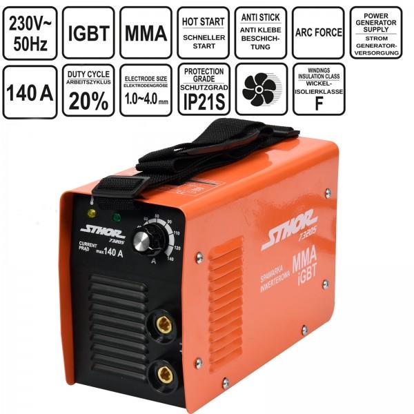 Sthor Inverter Schweißgerät IGBT MMA 140A