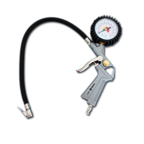 Druckluftpistole mit Manometer bis 12 bar Luftpistole