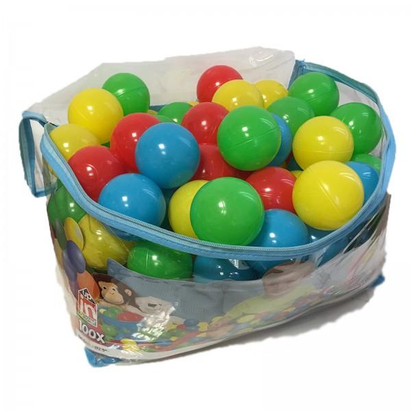 Bestway Spielbälle 100 Stück Kunststoff Bälle für Bällebad