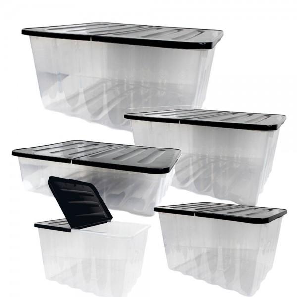 WAVE Box Komplettset mit klappbarem Deckel 10-75L