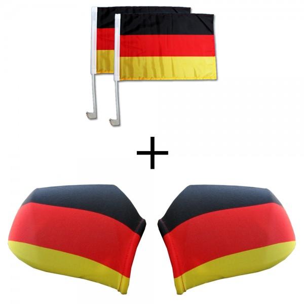 4-teiliges Auto-WM-Set Deutschland