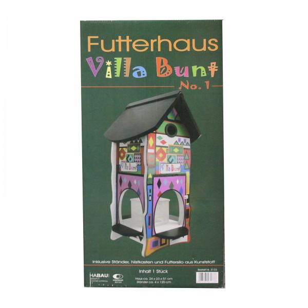 Habau Vogelfutterhaus Villa Bunt 3133