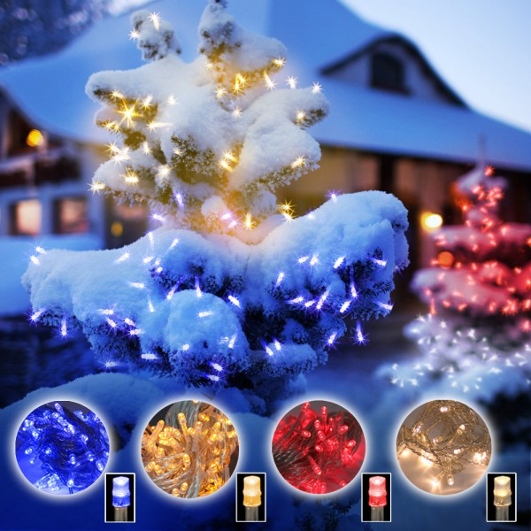 Grafner LED Lichterkette 10 Meter mit 100 LEDs