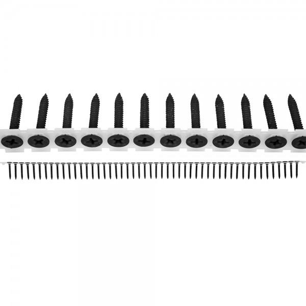 YATO Profi Schnellbauschrauben | auf Band | 3,5x25mm | Feingewinde | 1000 Stück | YT-09440