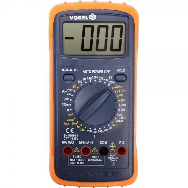 Vorel Universal Multimeter bis 600V / 10A