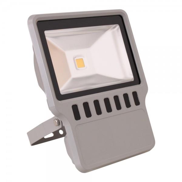 Grafner® LED Flutlichtstrahler Kaltweiß 100 Watt Außenwandstrahler