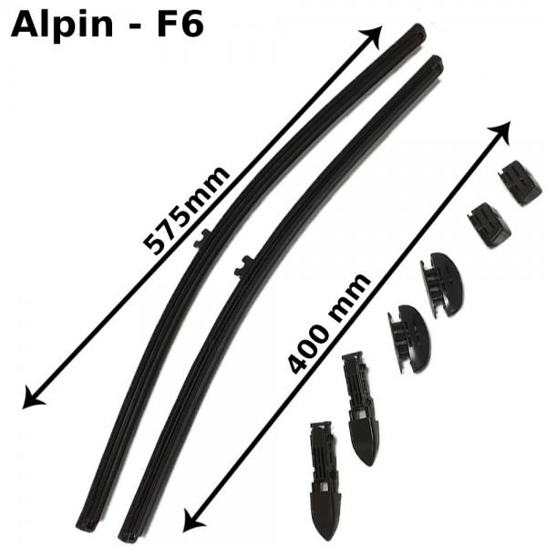 Alpin Scheibenwischer , Premium Line, F6, 2er Set