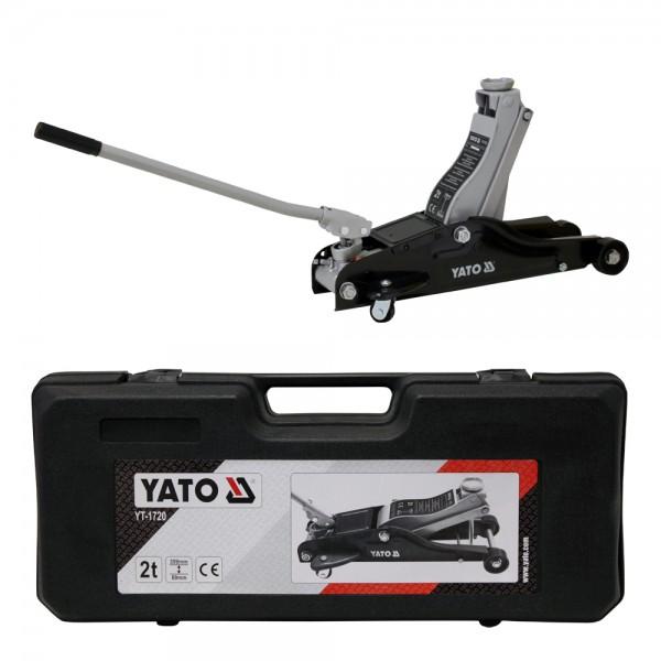 YATO Profi Hydraulischer Rangierwagenheber YT-1720 bis 2 Tonnen
