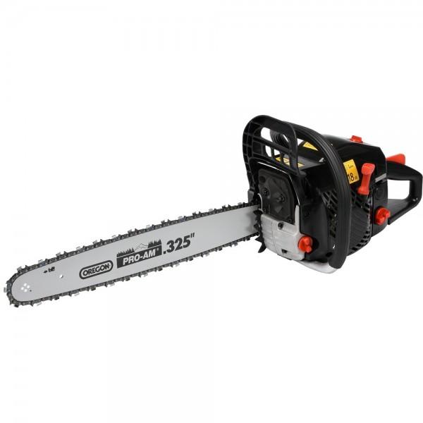 YATO Profi Benzin Kettensäge YT-84905 Motorsäge 2,7 PS Schwert 50 cm