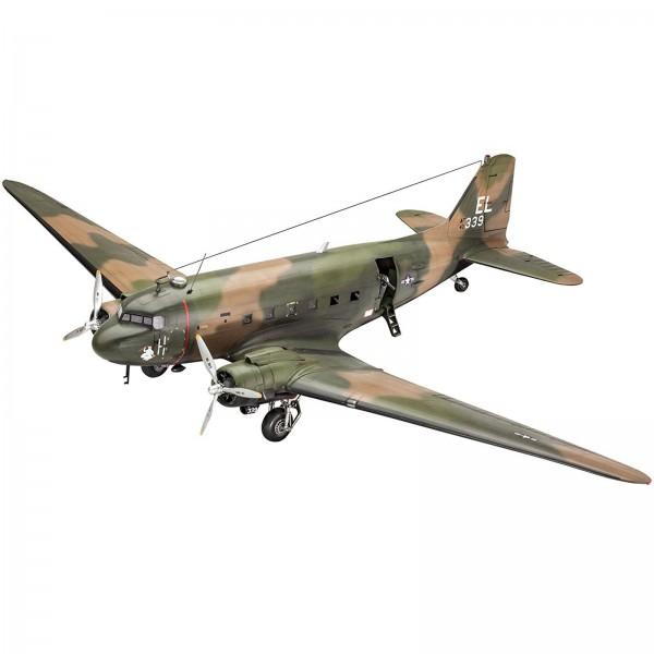 Revell Modellbausatz Militärflugzeug AC-47D Gunship Maßstab 1:48 04926