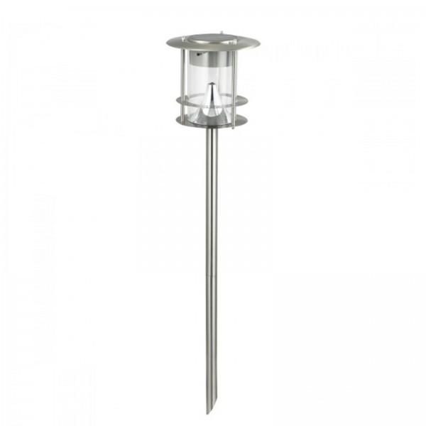 Hilight Edelstahl Solar LED Wegleuchte Gartenlampe 65 cm