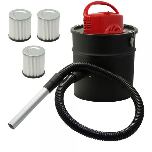 Grafner® Grafner® Grill- Asche- und Kaminsauger + 3 HEPA Fein Filter