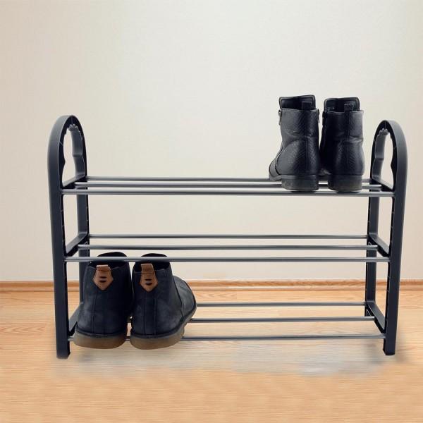 Schuhregal auf 3 Ebenen für 9 Paar Schuhe Schuhständer