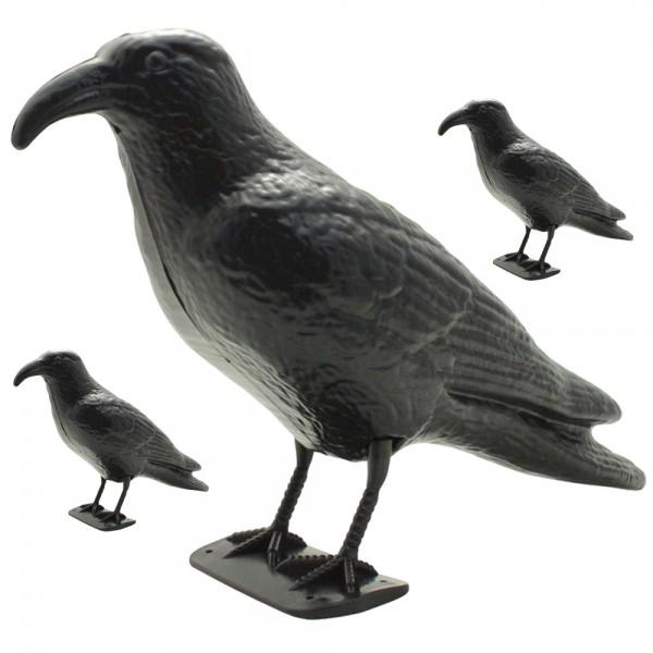 3er Set XXL Vogel- und Taubenschreck