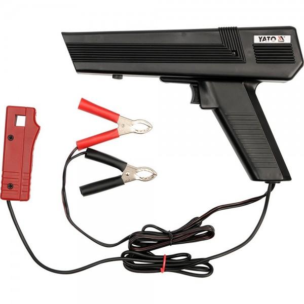 YATO Profi Zündlichtpistole / Stroboskoplampe 12V YT-7310