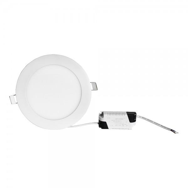 Grafner® LED Panel Rund 12W Warmweiss 3000K LP 10364