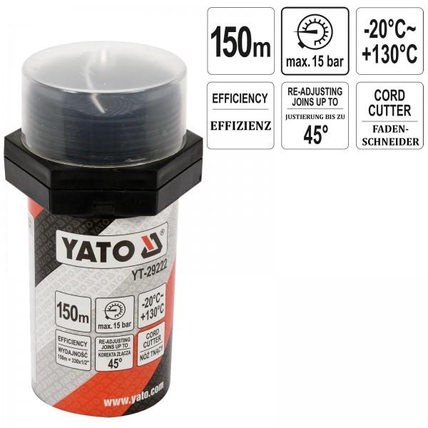 YATO Profi Gewindedichtfaden 150m YT-29222