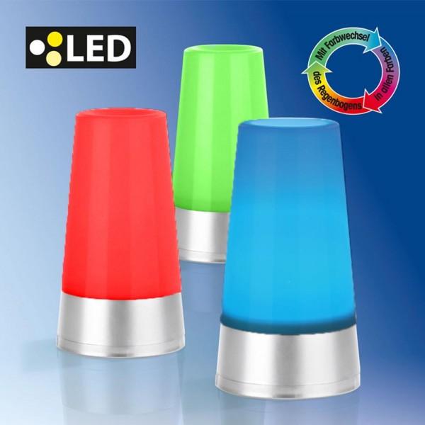 3er Set LED Stimmungslicht RGB automatischer Farbwechsel