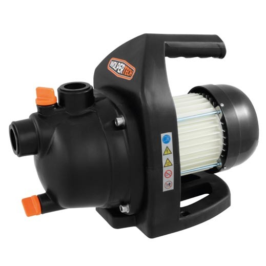 Wolpertech Gartenpumpe WT - GP 600 K 600 Watt Saugpumpe 2.800 l/h