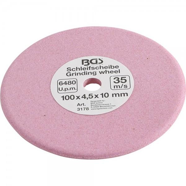BGS 3178 Schleifscheibe für Kettenglieder | Ø 100 x 4,5 x 10 mm
