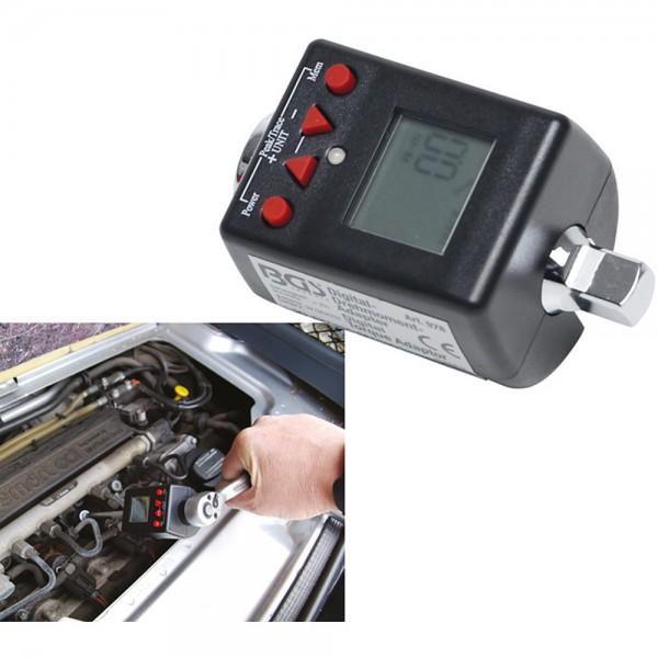 """BGS 978 Digitaler Drehmoment-Adapter   10 mm (3/8"""")   27 - 135 Nm"""