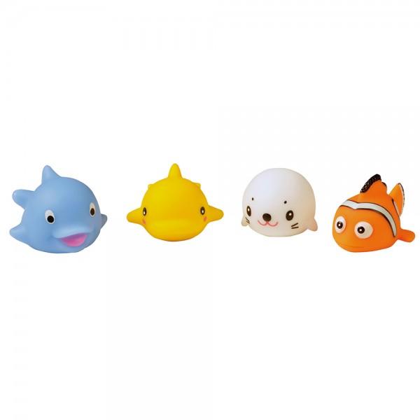 Heitech LED Fischfamilie im 4er Set inkl. Batterien