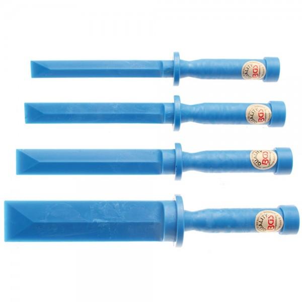 BGS 366 Kunststoff-Schaber-Satz   19 - 22 - 25 - 38 mm breit   4-tlg.
