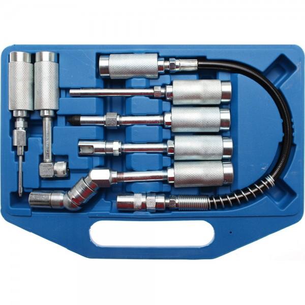 BGS 3142 Adapter und 7tlg. Zubehör-Satz für Fettpresse / Fettspritze