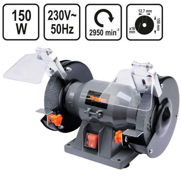 Sthor Doppelschleifmaschine 150mm 150 Watt