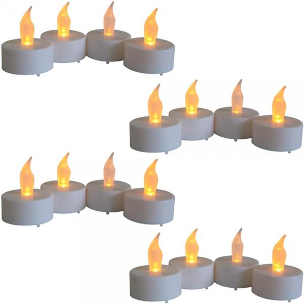 16er Set LED Teelichter inkl. Batterie