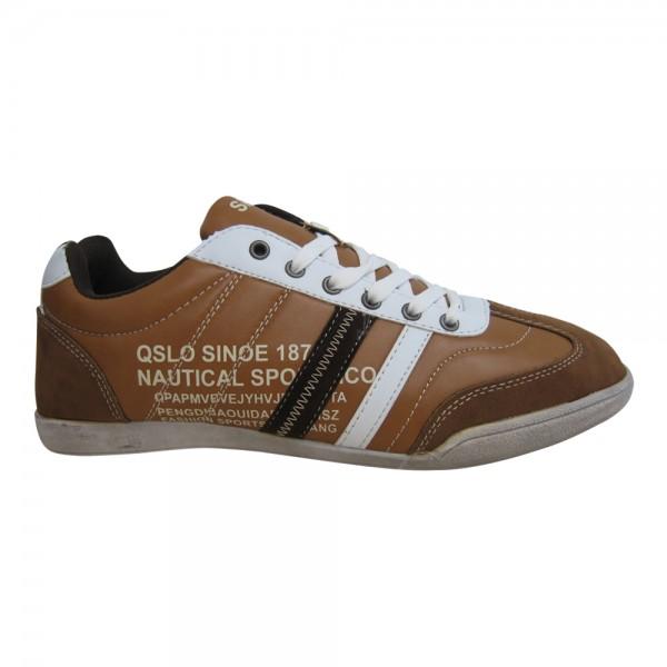 Herren Sneaker - Schnürer Größe: 42 / Farbe: Braun