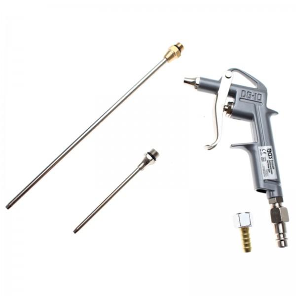 BGS 3215 Druckluft Ausblaspistole mit 3 Düsen 25 100 200 mm Druckluftpistole