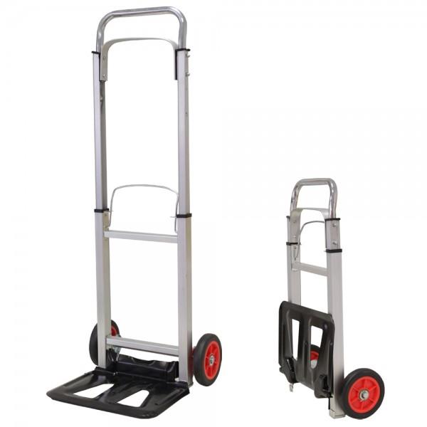 Grafner® Aluminium Sackkarre faltbar 90 kg Transportkarre