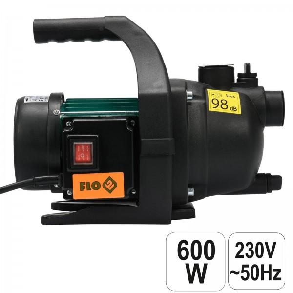 Flo Gartenpumpe 600 Watt 2800 l/h