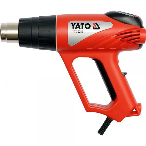 YATO Profi Heissluftpistole mit LCD 2000 Watt