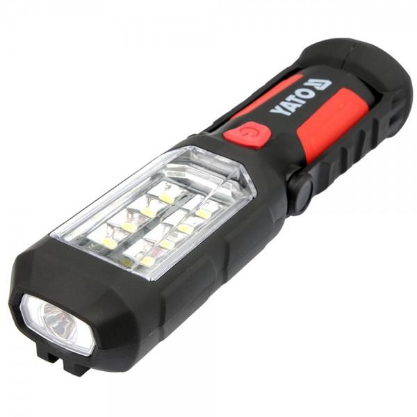 Yato LED Werkstattlampe 9LEDs 280 Lumen magnetisch