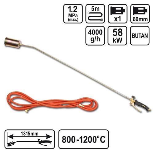 Aufschweißbrenner Gasbrenner Unkrautbrenner 800-1200 °C Anwärmbrenner