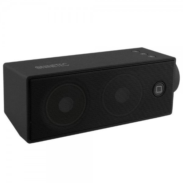 NINETEC Soundboost Bluetooth Speaker Lautsprecher Schwarz