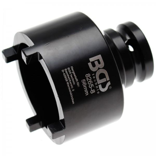 BGS Profi Nutmutternschlüssel | Zapfen außen liegend | 56 mm 8265-8