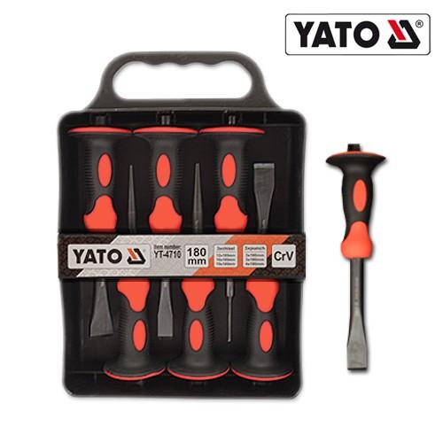 YATO Profi Meissel-und Durchtreiber-Set 6tlg YT-4710
