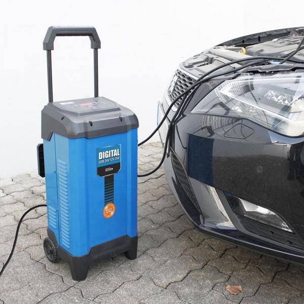 Güde Batterielader Digital GDB 24V/12V-250 Starthilfe