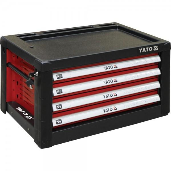 YATO Profi Werkzeugkasten mit 4 Schubladen YT-09152 Werkzeugschrank