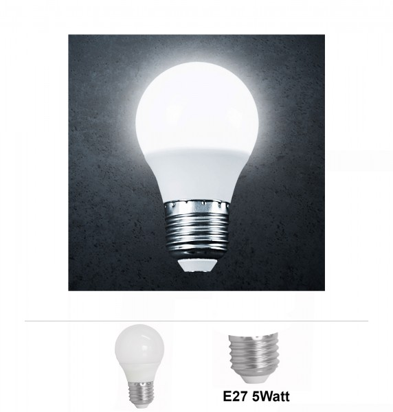 Grafner® LED Leuchtmittel 5W E27 6000K Kaltweiss