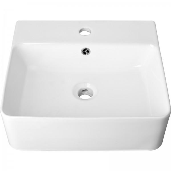 Fala Aufsatzwaschbecken eckig   460 x 420 x 155 mm