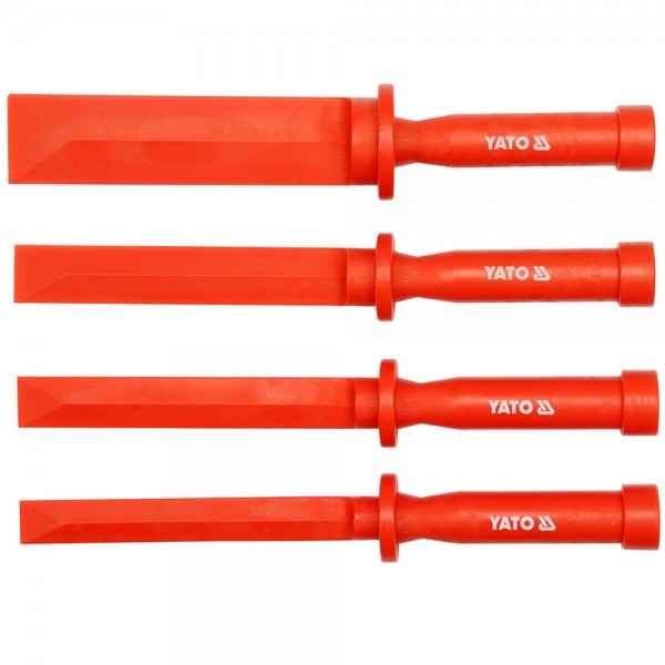 YATO Profi Kunststoff Abstraichersatz 4Tlg YT-0847