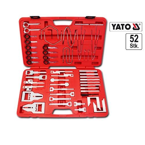 YATO Profi Autoradio Einbau Ausbau Demontage Werkzeug Set