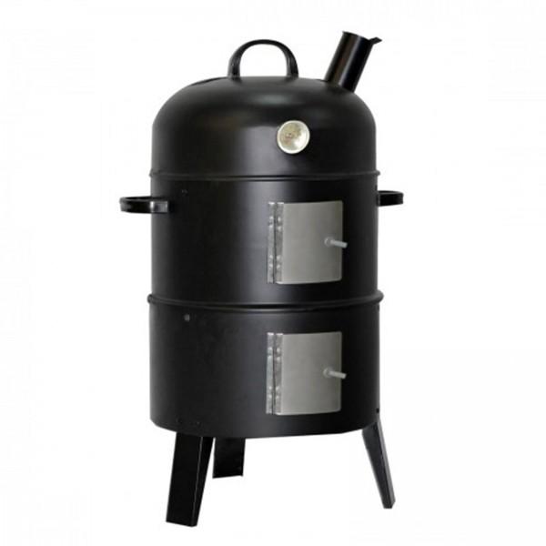 Smoker Räucherofen zum Kalt-, Warm- und Heißräuchern mit Holz und Kohle